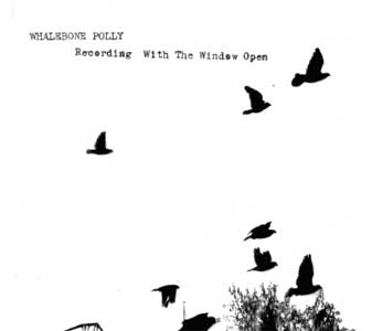WHALEBONE POLLY / RECORDING WITH THE WINDOW OPEN